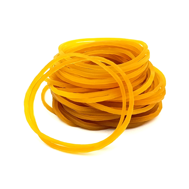 300PCS/Lot 4cm Rubber Band Bundled With High Elastic Cow Band Package Leather Case Bandage Ring Latex Ring Storage Rubber Band