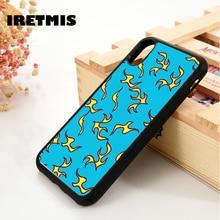 Iretmis 5 5S SE 6 6S Soft TPU Silicone Rubber phone case cov
