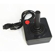 Ruitroliker الرجعية الكلاسيكية جهاز التحكم في عصا التحكم غمبد ل أتاري 2600 نظام وحدة التحكم الأسود ألعاب اكسسوارات