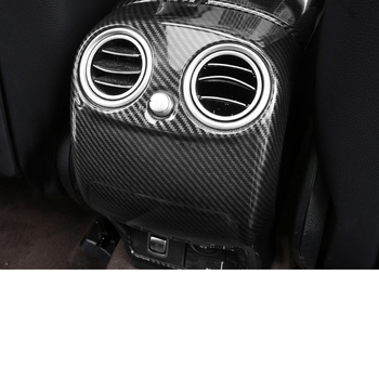 Lsrtw2017 for Mercedes Benz GLC GLC260 GLC300 Car Rea Armrest Vent Cover Storage Box Trims 2015 2016 2017 2018 2019 2020