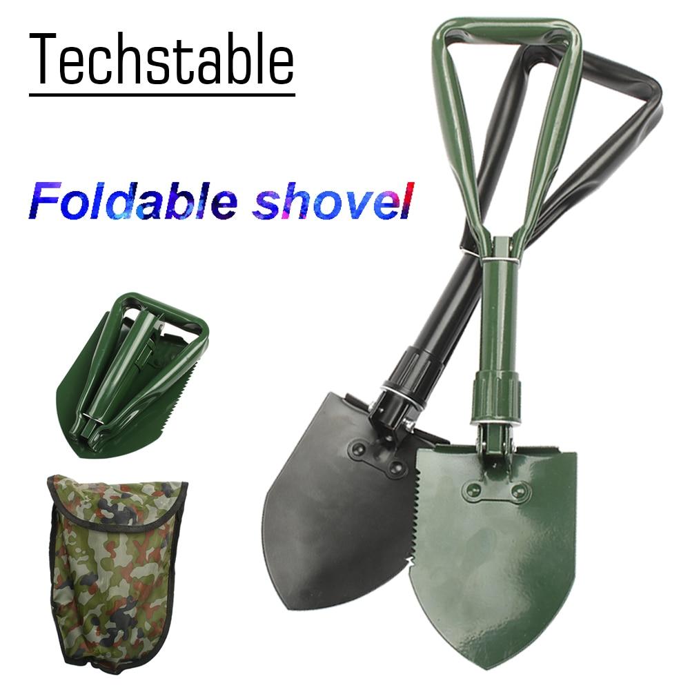 Multi-function Folding Shovel Survival Trowel Dibble Pick Camping Outdoor Tool