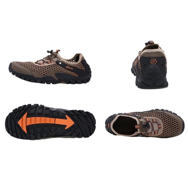 Image 5 - Water Shoes Sneakers Men Non Slip  Beach Sandals Upstream Aqua Shoes  Quick Dry River Sea Slippers  Hiking Climbing  Shoes SeasiUpstream Shoes   -