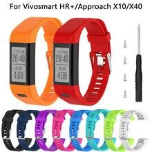 Bracelet de montre intelligent, pour Garmin Vivosmart HR Plus HR + Smart