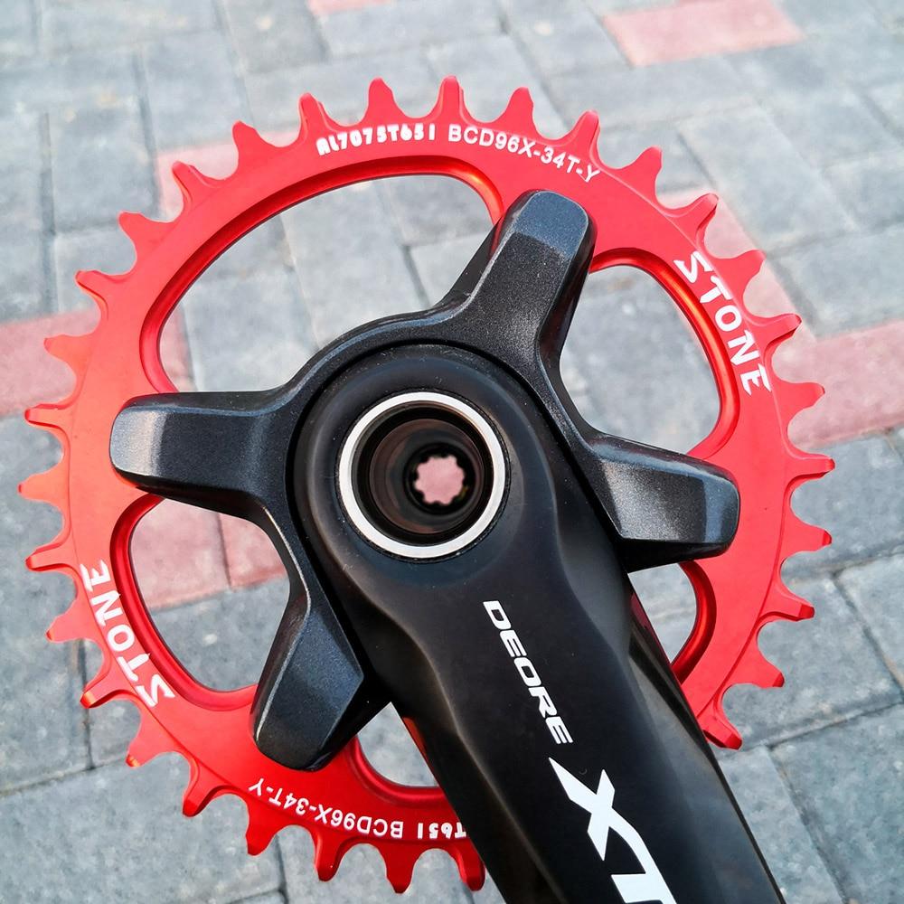 Stone Bike Single Chainring BCD96 96mm For SHIMANO SLX M7000 XT M800 M9000