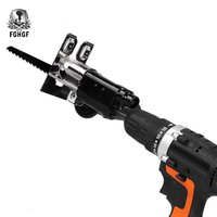 Fghgf adaptador de fixação alternativo mudar em conjunto broca elétrica para madeira metal ferramenta elétrica do agregado familiar corte madeira