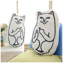 Stuffed Dolls Pillow Plush-Toys Alien Lord Nermal Cat Friends Ripndip Gifts Soft