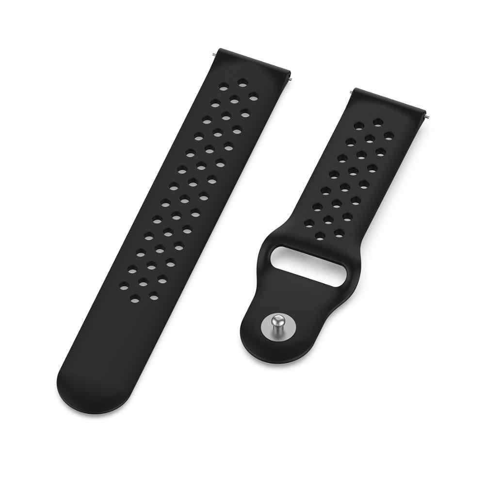 Banda di Silicone per Amazfit GTS / Bip Cinturino Da Polso per Huami Amazfit GTR 47 millimetri 42 millimetri/Amazfit 3 orologio Sostituibile Braccialetto cinturino