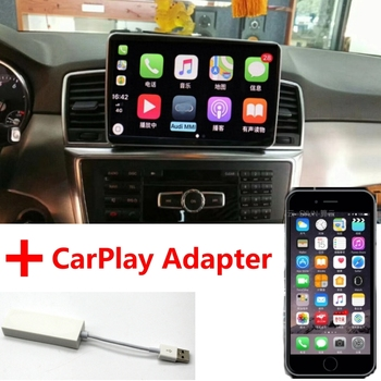 Liandlee Car Multimedia Player NAVI For Mercedes Benz MB ML Class W166 2011~2015 Car Radio Stereo CarPlay Adapter GPS Navigation image