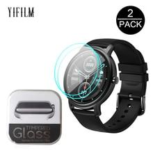 Tempered-Glass Air-Smartwatch Mibro Air Xiaomi Screen-Protector-Film Premium Clear HD