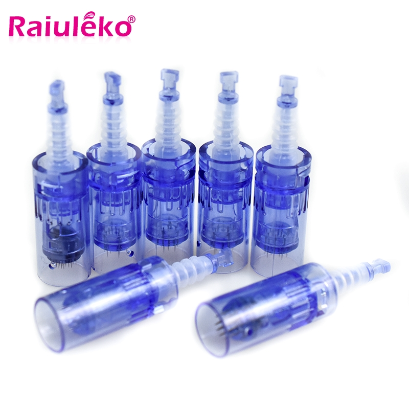 Bayonet Tattoo 3D/5D Square Nano Needles Cartridge Needle MYM Stamp Pen Tips For Electric Auto Microneedle Permanent Makeup