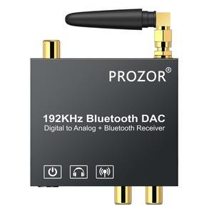 Image 2 - PROZOR الرقمية إلى التناظرية محول صوت بلوتوث DAC محول محوري Toslink إلى التناظرية ستيريو L/R RCA 3.5 مللي متر محول الصوت