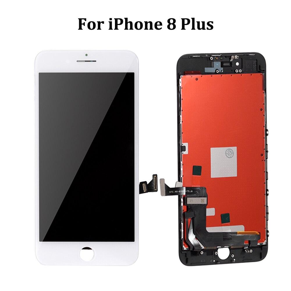 АААА++качества для iPhone 6 6С 6Plus 6 S плюс ЖК-дисплей с идеальной 3D-экран сенсорный дигитайзер Ассамблеи для iPhone 6С 7 8 Дисплей