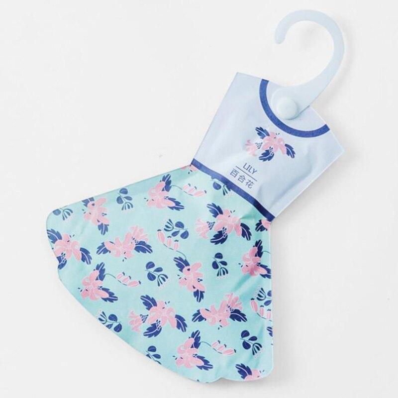 Ароматный аромат, прекрасный подвесной ароматизированный Саше, свежая одежда в форме юбки - Цвет: lily