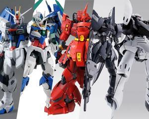 Image 3 - Bandai Gundam Sacchetto Fortunato Casuale in Eccesso Valore Hg Mg Rg 1/144/100 Super Valore Action Figure Bambini regalo Del Giocattolo