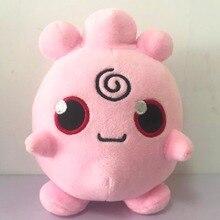 Takara  POKEMON Pikachu Plush Toy Clefairy Cleffa Jigglypuff Pink Anime Doll Hobby Collection Stuffed for Children