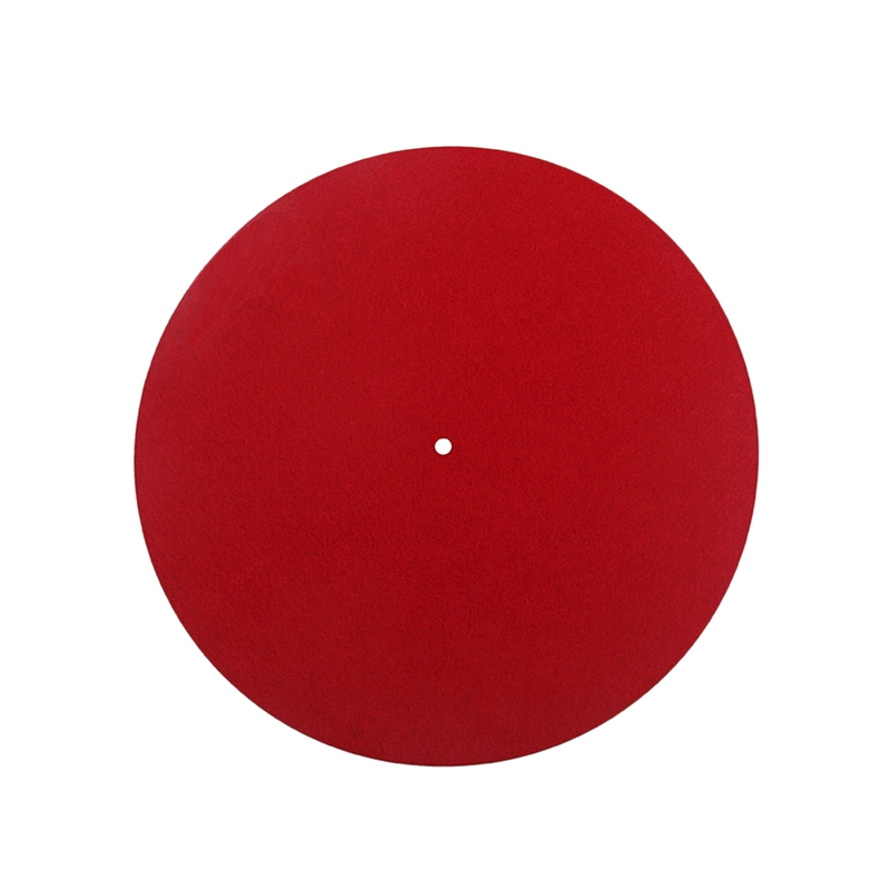 Turntable Mat Felt Platter Vinyl Record Players For Turntable LP Phonograph Records