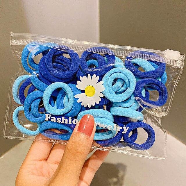 50pcs blue