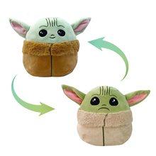 Jouet en peluche Yoda pour bébé, poupée douce, personnage de dessin animé, cadeaux pour enfants