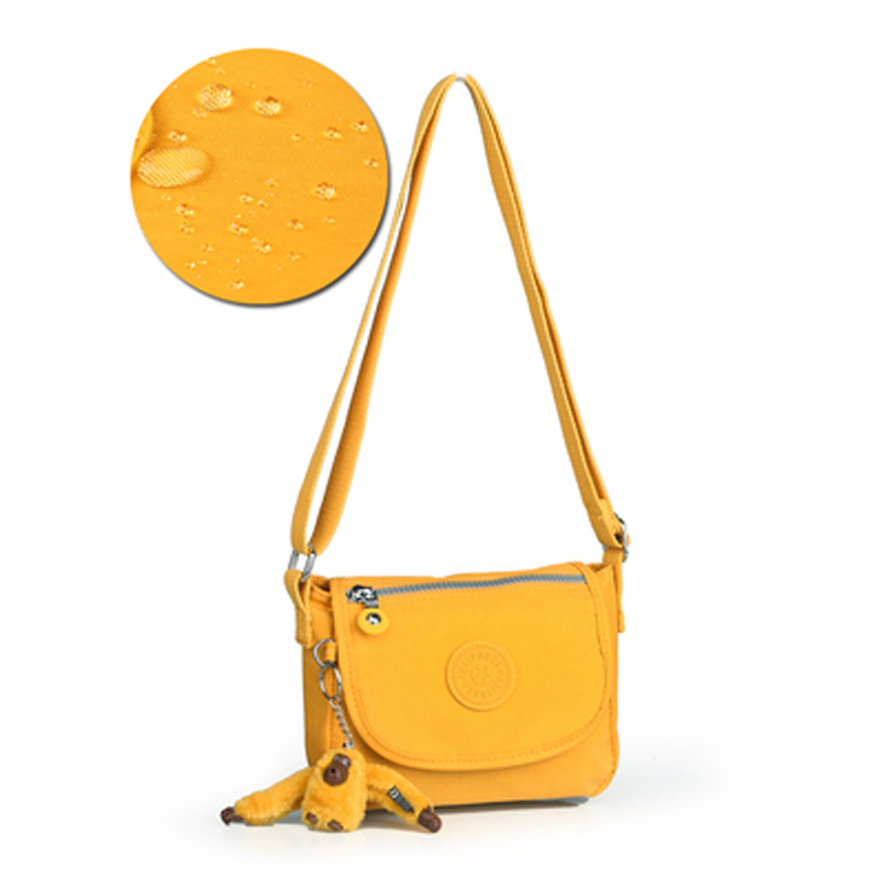KEDANISON Sling Bag Nylon Female Crossbody Bag Waterproof Lady Messenger Bags