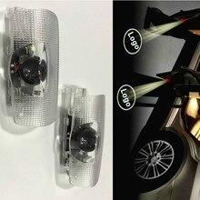 JURUS For Subaru BRZ Led Car Door Light Logo Laser Courtesy Lamp Interior Lights Projector Welcome Accessories