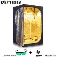 Mastergrow lâmpada de led, tenda de crescimento hidropônica interna, planta crescente da caixa da sala, greenhouse reflexivo de jardim não tóxico