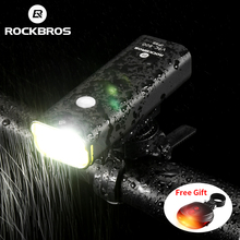 ROCKBROS Rechargeable Bicycle Light Cycling Riding Flashligh