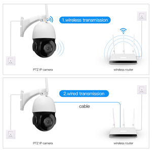 Image 5 - 30X التكبير PTZ الأمن كاميرا IP 1080P HD كاميرا لاسلكية واي فاي في الهواء الطلق مقاوم للماء كشف الحركة الأشعة تحت الحمراء للرؤية الليلية Onvif CCTV كام