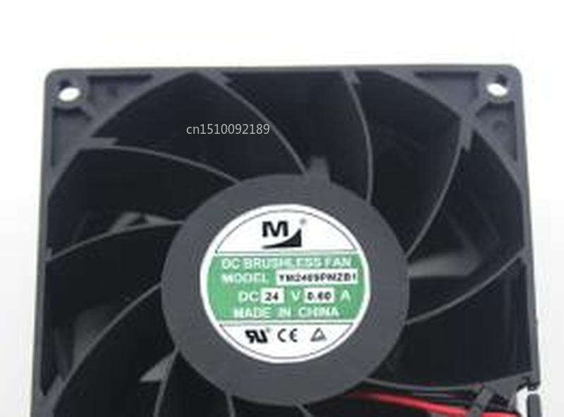For Fan YM2409PMZB1 9038 9cm 24V 0.60A Server Cabinet Fan Free Shipping