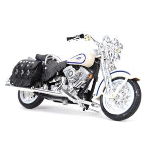 Image 5 - Maisto 1:18 1997 Flsts ヘリテイジスプリンガーダイキャスト合金オートバイモデルのおもちゃ