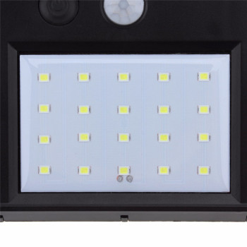 1-8pcs 20LEDs Solar Power Light Motion Sensor Wall Lighting Outdoor Garden Decoration Fence Stair Pathway Yard Waterproof Lights 5