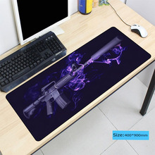 Gun Mouse Pad Large Pad for Rubber Laptop Mouse Notbook Comp