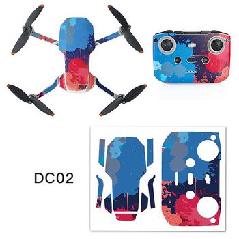 Wodoodporne naklejki pcv zestaw do DJI Mavic Mini 2 akcesoria do dronów Drone Body skóra ochronna ramię pilot Protector tanie i dobre opinie LICHIFIT CN (pochodzenie) Net weight 7 7g for DJI Mavic Mini 2 Drone 22 x 17cm Chinese flag MC02 MC01 SL01 SL02 DC01 DC02(Optional)