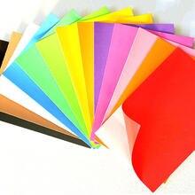 Papier éponge Eva en caoutchouc, 10 pièces, papier bulle coloré pour bricolage, décoration de fête de mariage