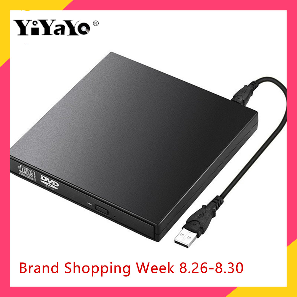 Yiyayo Writer Player Reader-Recorder Burner Dvd-Drive Laptop Portatil CD-RW Windows External