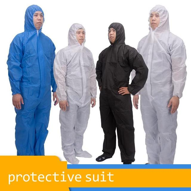 Disposable Protective Suit Ppe Suit Chemical Protection Work Clothes Protective Clothing Special Clothes Coverall 3