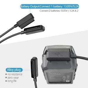 Image 2 - 2 In 1 Car Charger for DJI Mavic Pro Platinum Camera Drone Battery Portable Smart Travel Vehicle Charger Dual Output Charging