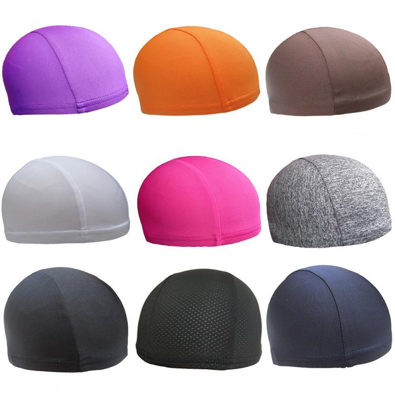Universal Motorcycle Helmet Inner Cap Coolmax Hat Quick Dry Breathable Hat Racing Cap Under Helmet  Hat For Helmet