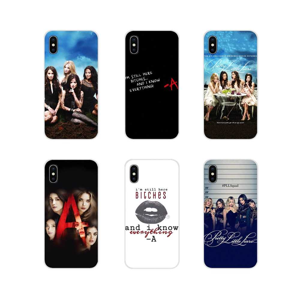 For Sony Xperia Z Z1 Z2 Z3 Z5 compact M2 M4 M5 C4 E3 T3 XA Huawei Mate 7 8 Y3II Silicone Skin Case Pretty Little Liars Lucy Hale
