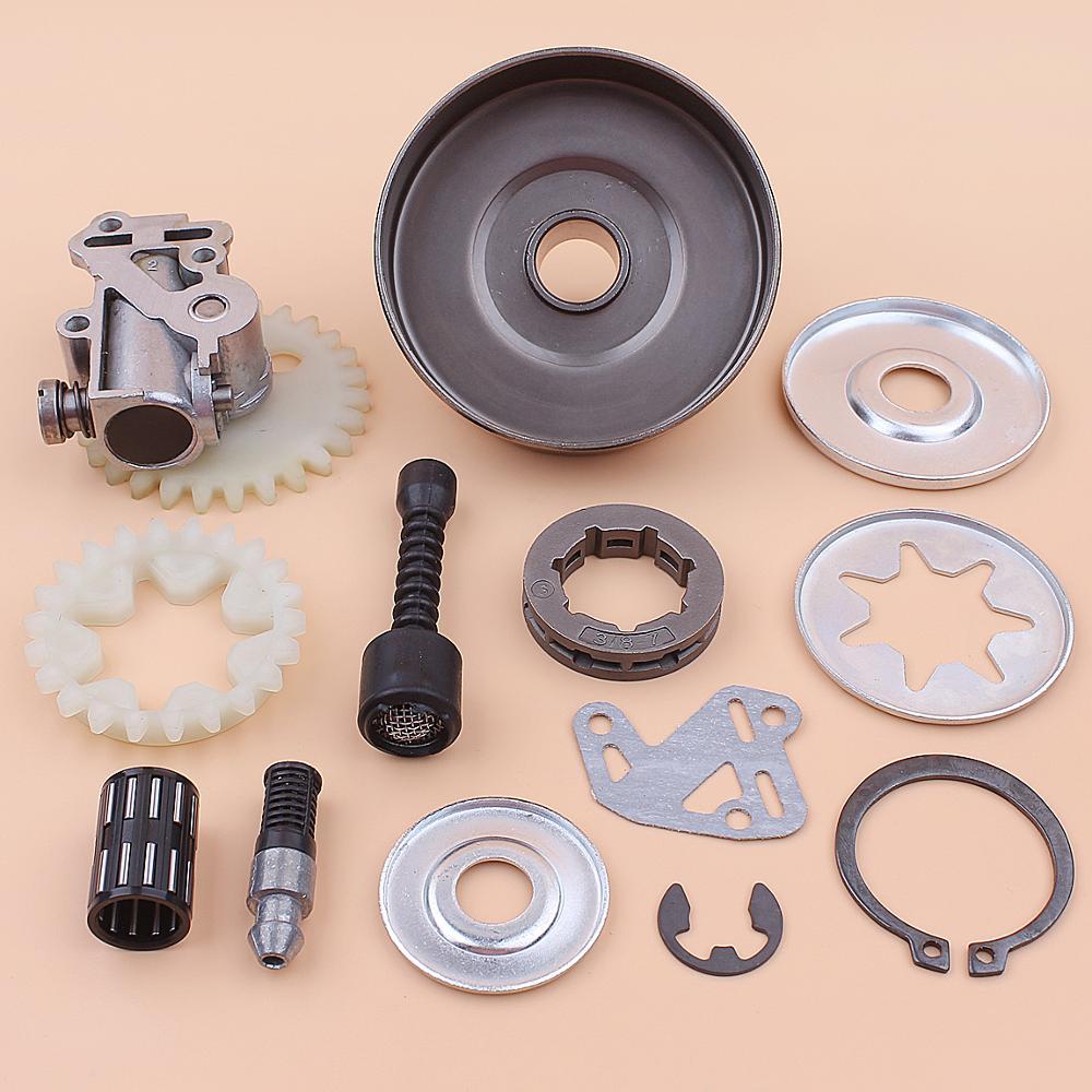 Sprocket 038 1119 For 1119 Kit Line Repair Oil 3 8inch Stihl Filter Drum 1003 0007 MS380 3200 640 Pump Clutch Washer Rim