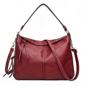Image 4 - 럭셔리 가방 핸드백 여성 유명 브랜드 2021 유럽과 미국 여성용 메신저 가방 Hobos 디자이너 핸드백 Lady sac bolsa