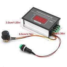 цена на 12V 24V 36V 48V 30A PWM DC Motor Speed Controller Digital Display LED Motor Controller Speed Regulator PWM Start Stop Switch D30