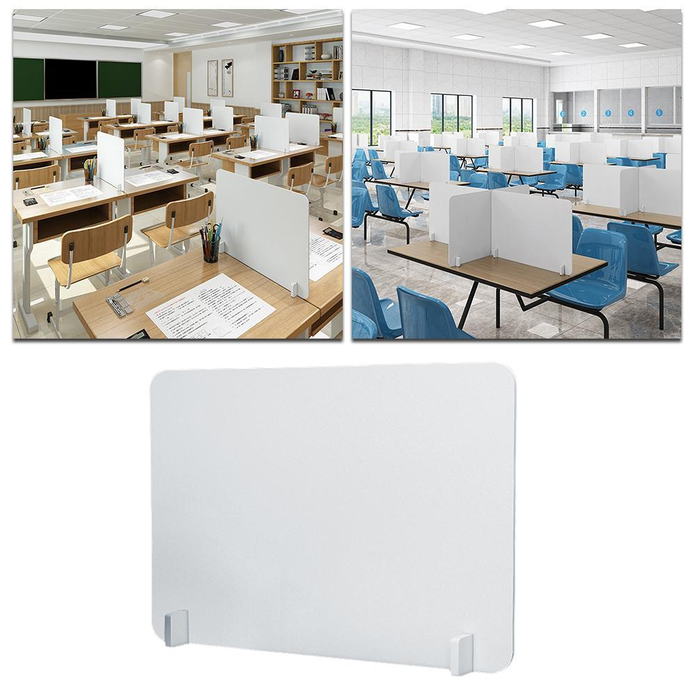 Desk Partition Board Dining Table Isolation Baffle To Separate Work Or Counter Separation Meals Everyone Acrylic Baffle Ach G0V3