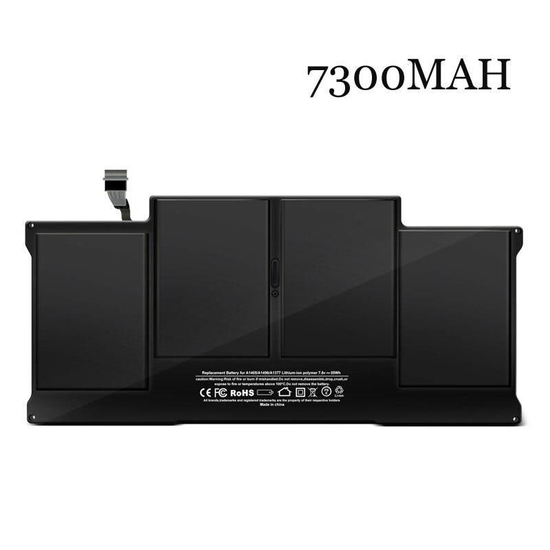 Nouvelle batterie d'ordinateur portable Interne Pour mac air MacBook Air A1369 A1405 A1466 A1496 A1377 MD231 MD232 MC965 MC966 13 pouces 2011