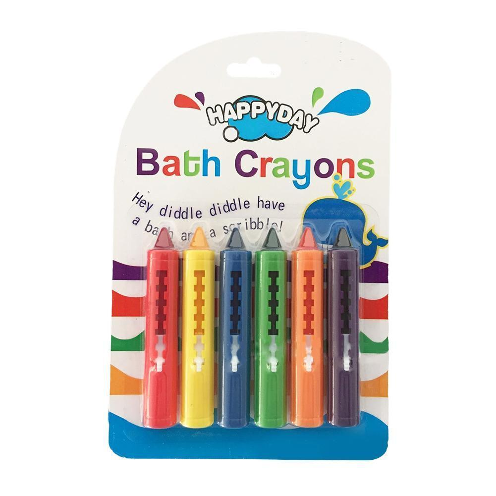 6color/box Crayons Easy To Erase Washed Color Bathroom Graffiti Crayons For Kids Creative Color Pen Painting D1G7