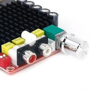 Image 4 - TDA7498 الفئة D مضخم رقمي عالي الطاقة 2x100 واط مكبرات الصوت مكبرات الصوت تيار مستمر 12 فولت 24 فولت