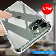 New Upgraded Transparent Soft Shell for Iphone 11 Clear Soft
