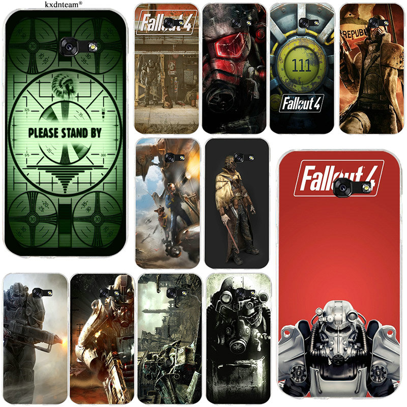 Soft Silicone TPU Phone Cases Fallout 4 Video Games for Samsung Galaxy A3 A5 A7 2016 2017 Core 8262 850 Grand I9082 Coque Shell image