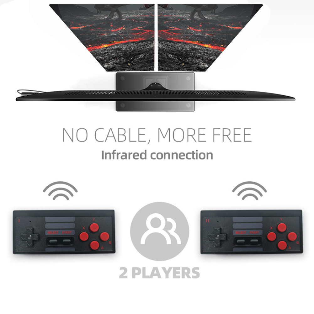 cheapest Home Game Consoles HD TV Game Consoles Y2   HD Video Game Consoles Wireless Game Console Handles