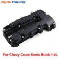 Черный Распредвал, крышка клапана двигателя, болты и уплотнение для Chevy для Cruze для Sonic ДЛЯ Buick 1.4L 25198498,25198874, 55573746