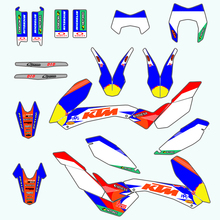Stickers Decals Sticker Customized Team Graphics Kit For KTM SMR 690 SMR690 2008-2011 2008 2009 2010 2011